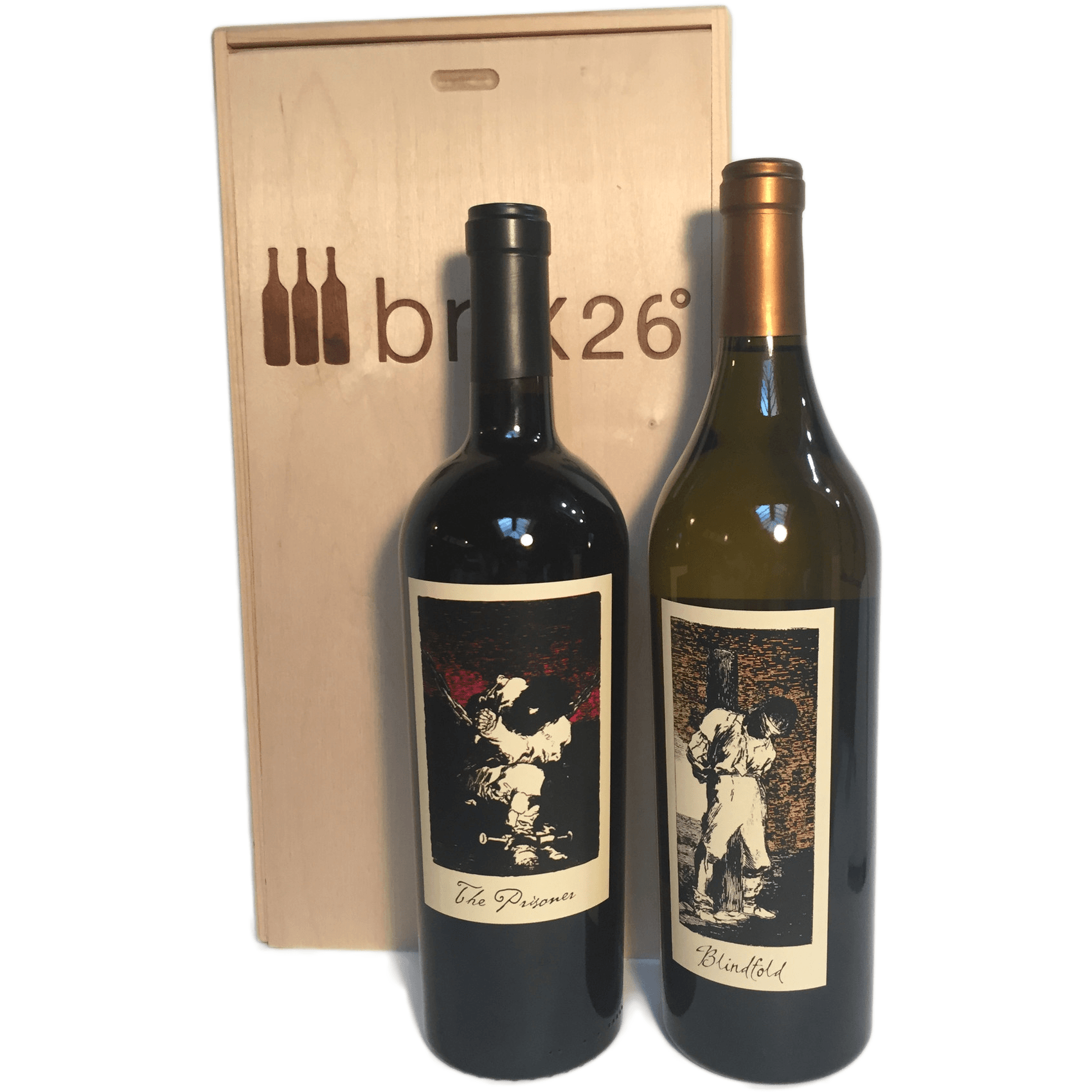 The Prisoner Wine 2-Bottle Gift Pack - Brix26