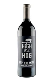 High On The Hog 2017 Red Wine, Central Coast