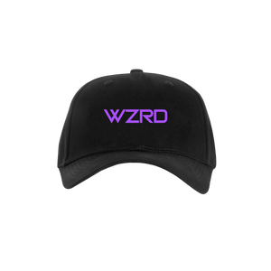 BLACK/PURPLE WZRD HAT
