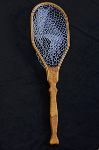 Figured Maple Burl trout net