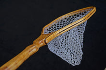Load image into Gallery viewer, Figured Maple Burl trout net