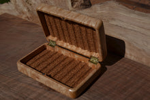 "Load image into Gallery viewer, 4x6"" Quilted maple fly box"