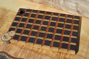 Mosaic, endgrain cutting board