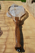 Load image into Gallery viewer, Gorgeous trout net of Bocote, figured maple and walnut