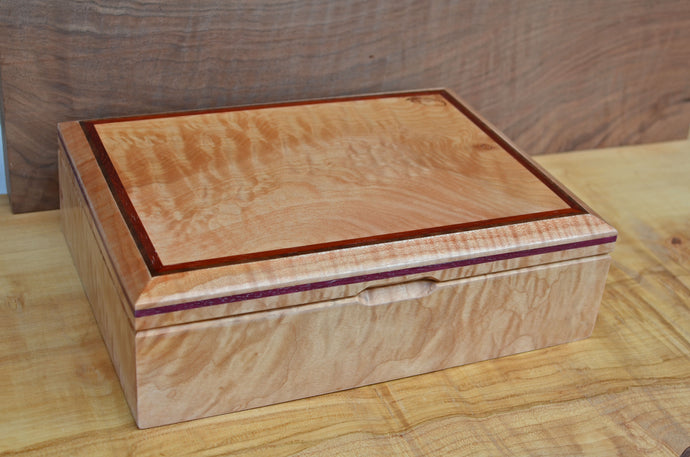 Custom Maple boat box