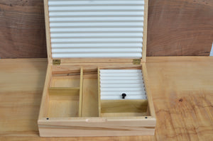 Custom Ambrosia Maple and Curly Koa boat box