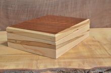 Load image into Gallery viewer, Custom Ambrosia Maple and Curly Koa boat box
