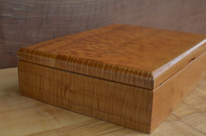 Custom Quilted Maple boat box