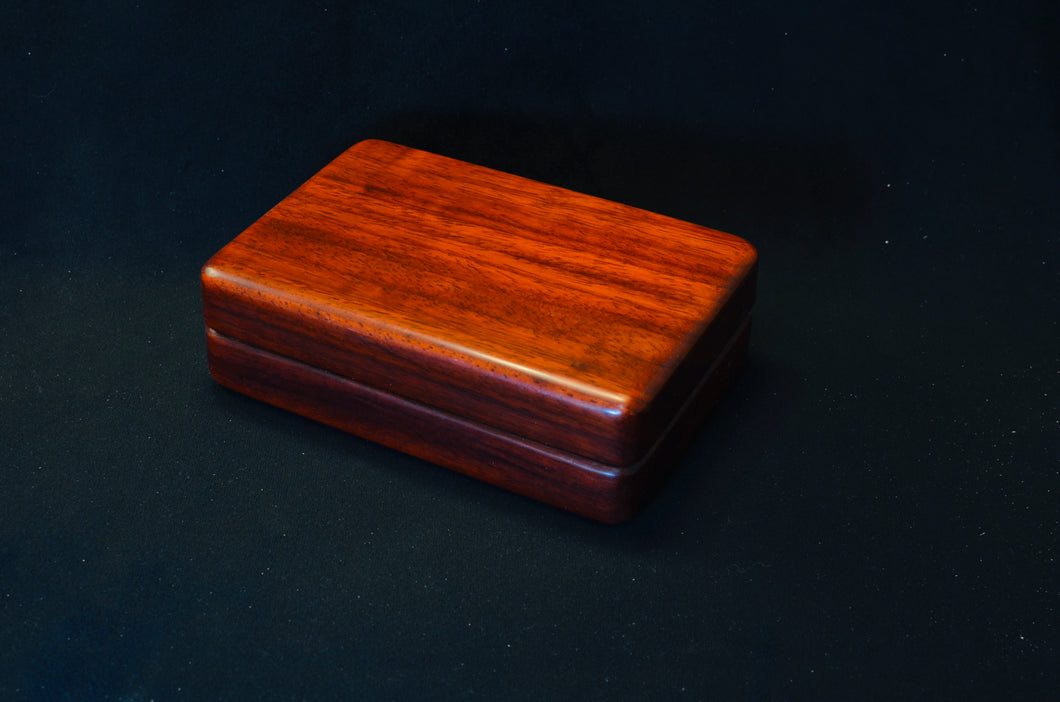 Padauk fly box for Ryan