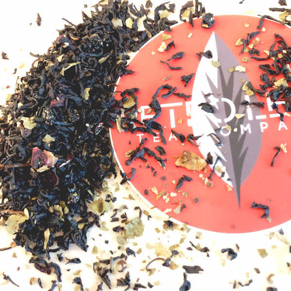 How do we create our distinct bold and flavorful black tea blends?