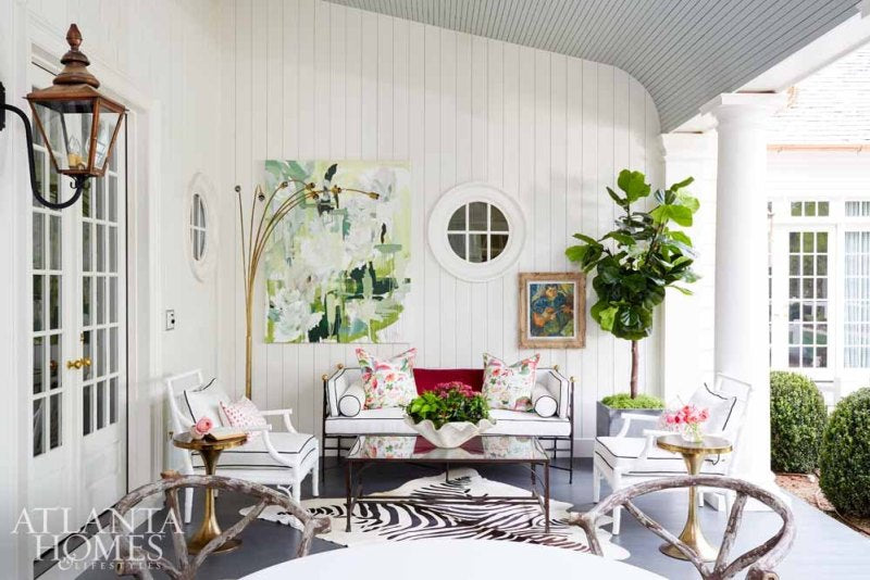 Chic outdoor spaces