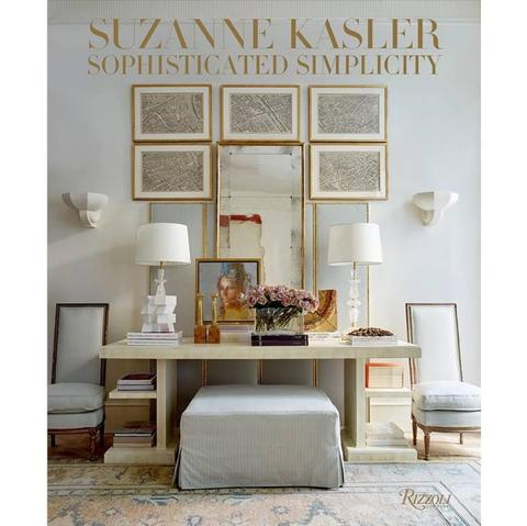 "Meg and I make it no secret that we love books, and are both coveting this latest one, <a href=""https://huffharrington.com/products/suzanne-kasler-sophisticated-simplicity"" target=""_blank"">""Sophisticated Simplicity""</a>  by Suzanne Kasler"