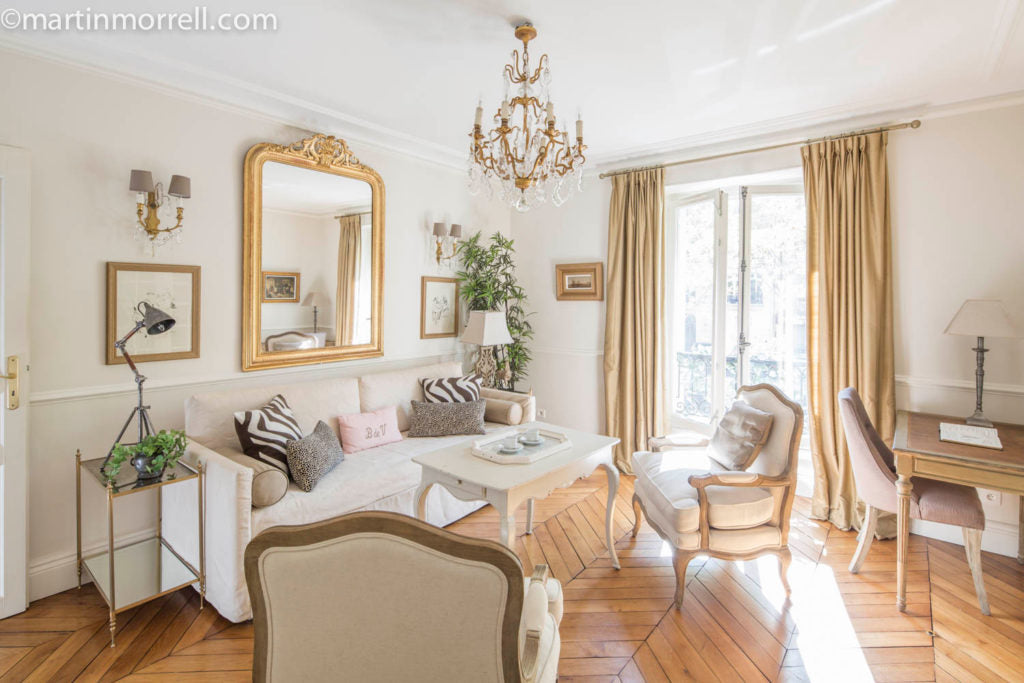 "The living room of the Beaune apartment, now <a href=""https://www.parisperfect.com/investors/own-your-own-pied-a-terre-in-paris.php"" target=""_blank"">being sold as a ""fractional""</a>"