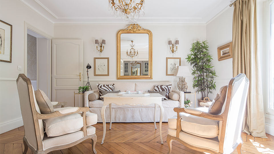 "We have often been inspired by our first apartment in Paris, a beautiful one that is now for sale <a href=""https://www.parisperfect.com/investors/own-your-own-pied-a-terre-in-paris.php"" target=""_blank"">called Beaune.</a>"