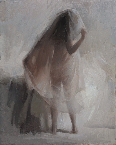 Wrapped in Veil, 20 x 16 (sold)