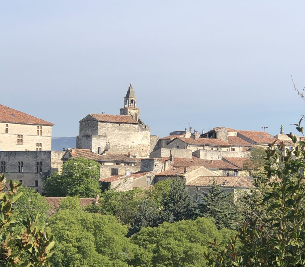 The pretty mountain village in the Cevennes mountains which turns into a mega street fair, twice a year.
