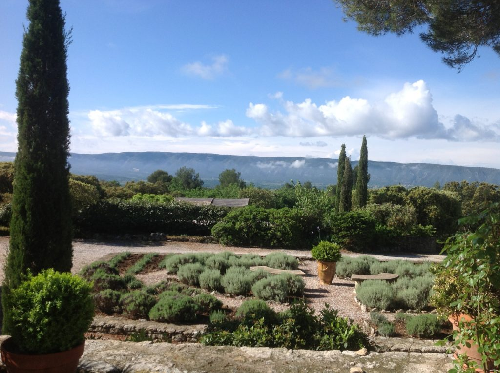 Your home-away-from-home is Les Murets, overlooking the Luberon valley