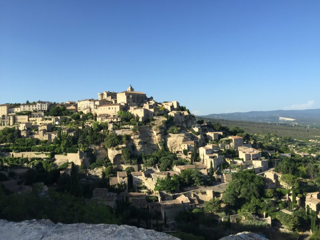 The spectacular village of Gordes, our home base