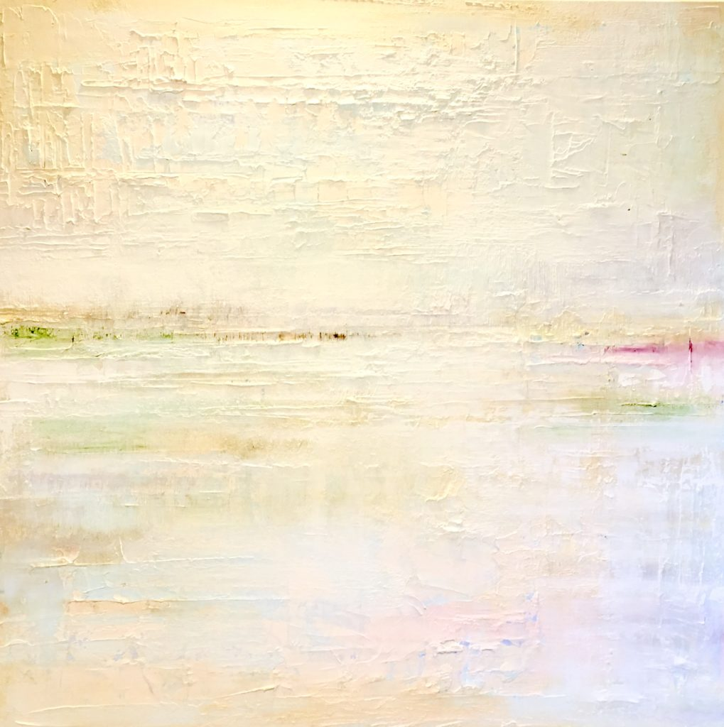 Barbara Sussberg, High Tide, 40x40