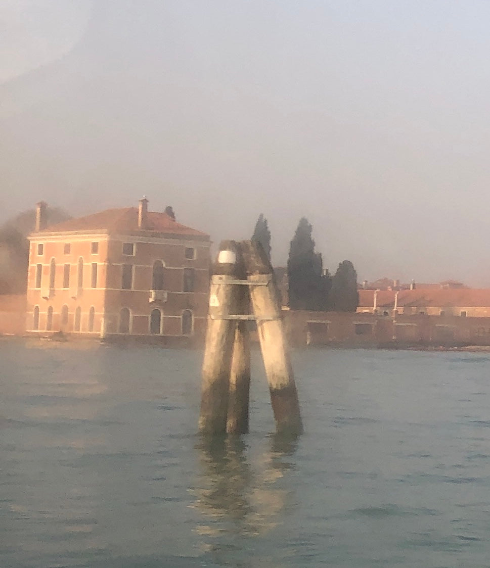 We said arrivederci to Venice early in the morning with a breathtaking view from our boat to the airport.