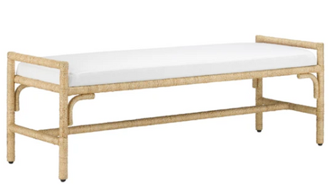 Huff Harrington Muslin Bench