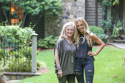 Mother-Daughter duo Sally and Sarah Hovis of S. Carter Designs (photo by Catrina Maxwell for Style Blueprint)