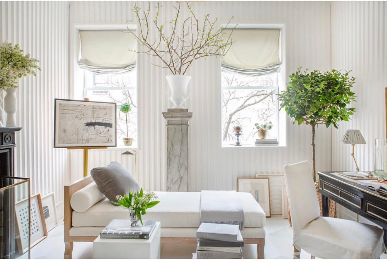 "Sarah Bartolomew's design for the Kips Bay Showhouse ""A Room of Her Own"" photo Patrick Cline."