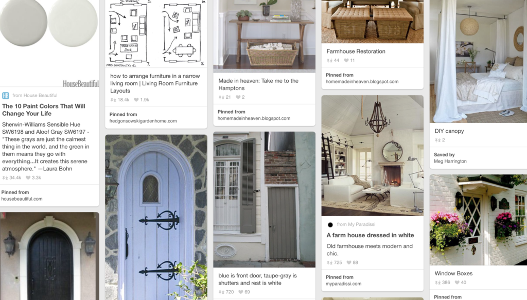 How on earth can anyone renovate or design a job without Pinterest? We're obsessed.