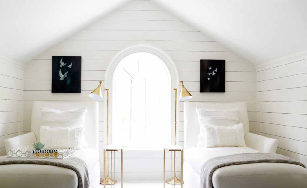 "Sometimes a renovation reveals unplanned spaces, like a third-floor sleepover retreat shown at the <a href=""http://atlantahomesmag.com/article/history-in-the-making/"" target=""_blank"">2017 Southeastern Designer Showhouse</a>."