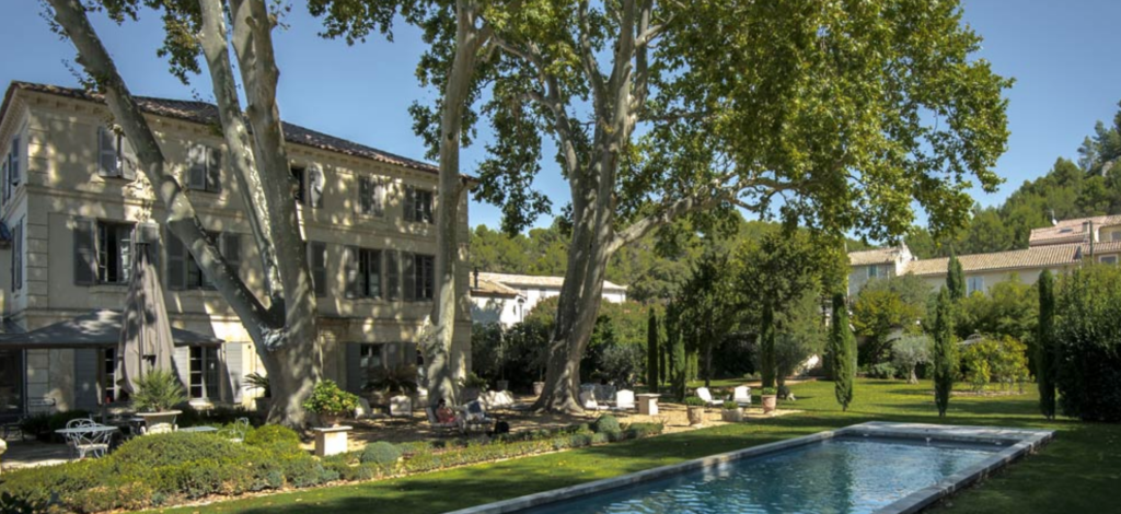 "The exquisite <a target=""_blank"" href=""http://www.labastidedeboulbon.com/"">Bastide de Boulbon</a> is a simply gorgeous, gorgeous little spot."