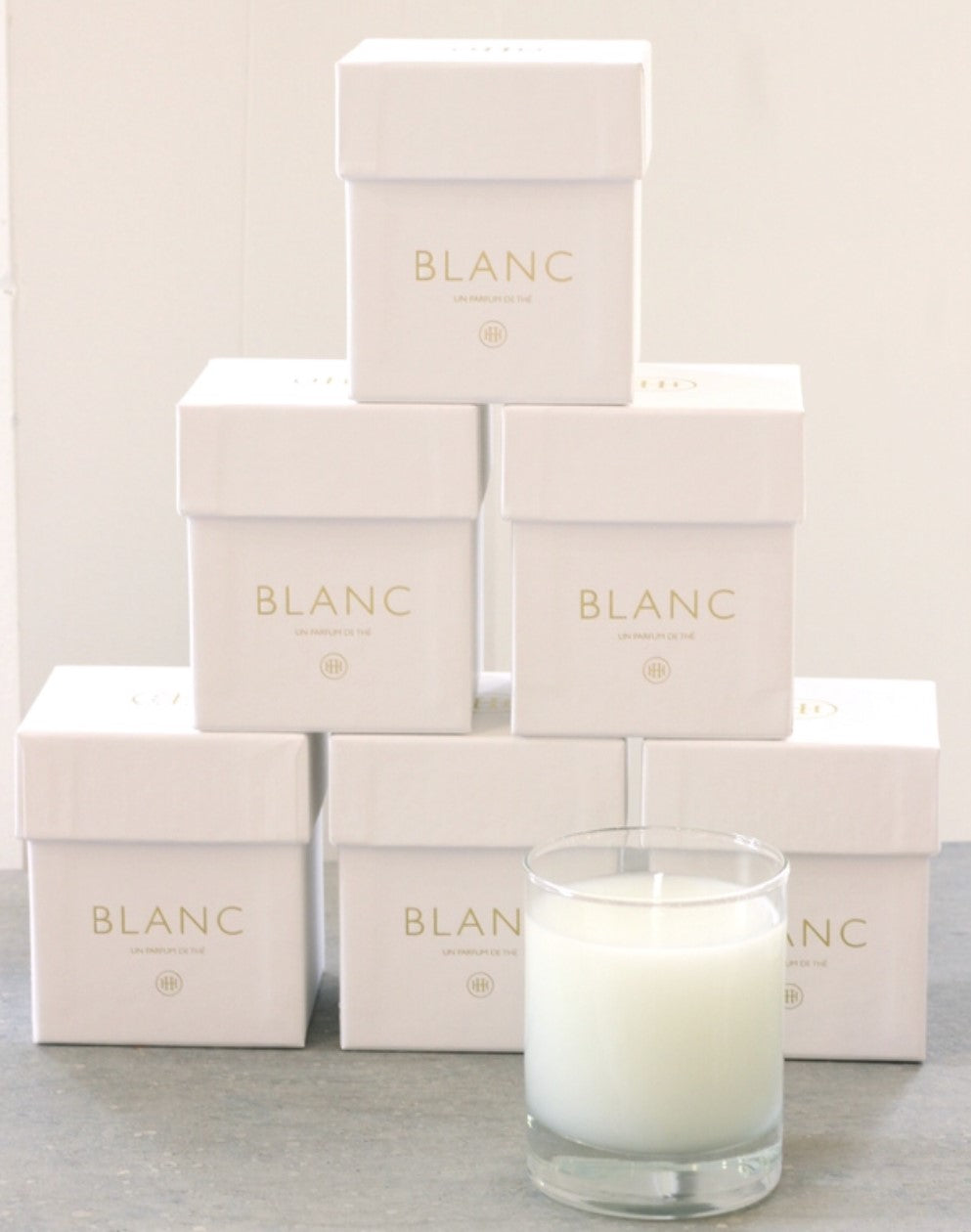 We decided to keep the packaging clean, elegant and simple, just like the scent within
