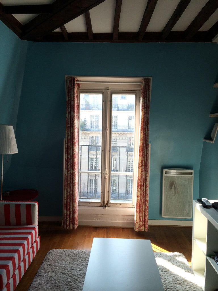 The little jewel of an apartment in Paris, before the renovation.