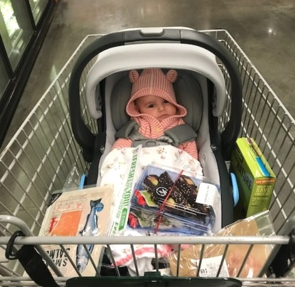 Louisa is already an expert shopper during Louisa time!