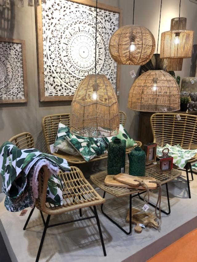 Wicker and bamboo of all types at Maison et Objet