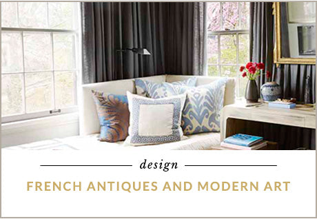 French Antiques and Modern Art