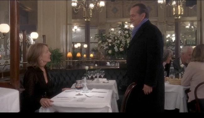 Something's Gotta Give filmed at Le Grand Colbert (a Huffington favorite restaurant in Paris!) from Locations Hub