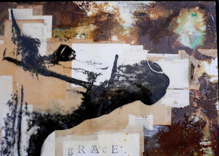 And finally, from Ashley Collins (a most inspired and talented California artist who performs wonders with the equine form), Grace. How beautiful is this?