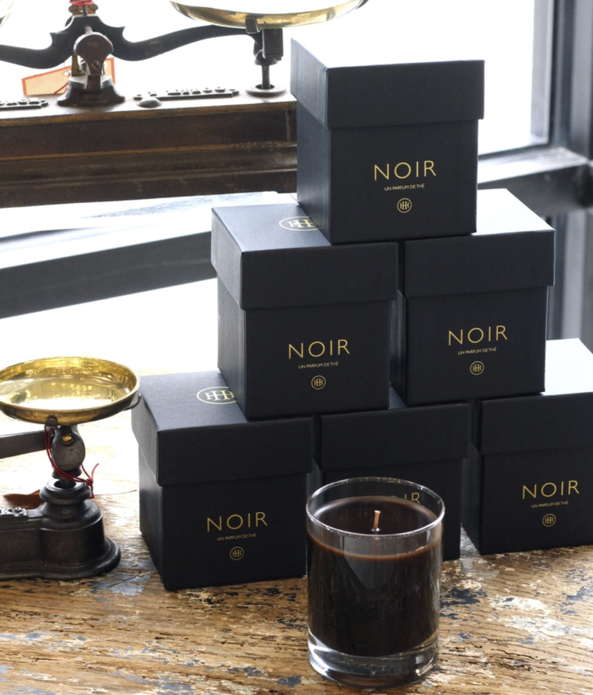 The Noir scent is the same as the Blanc -- just 20% stronger. We love them both.