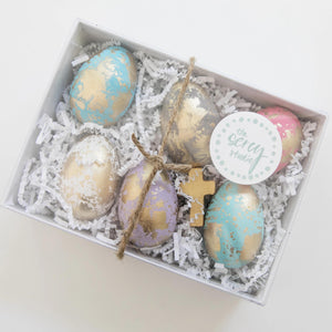 The Sercy Studio Easter Eggs - Set of 6