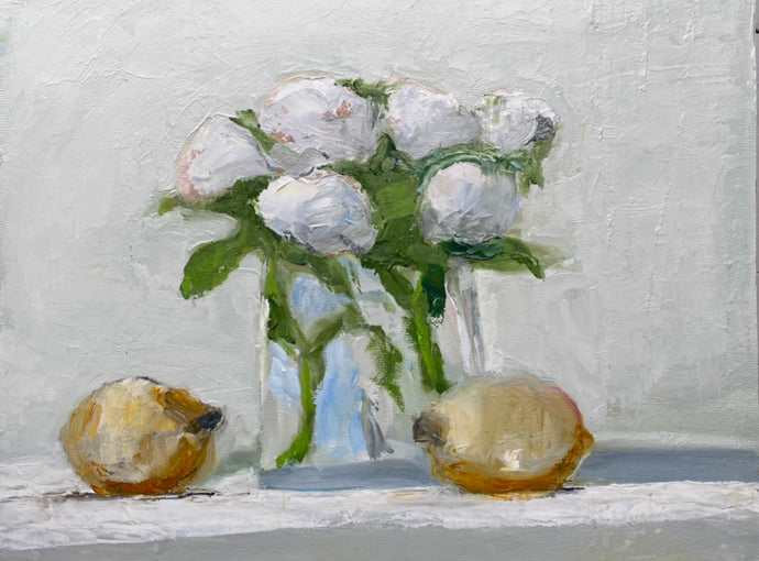 Anne Harney - Kiwi and Roses