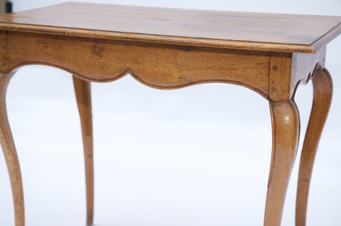 Louis XV Side Table in Oak