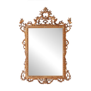 Ornate Gold Miroir