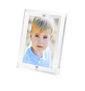 2x3 Clear Beveled Frame