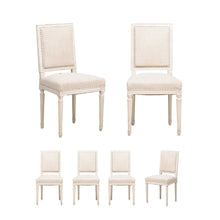 Load image into Gallery viewer, Vintage White Dining Chair