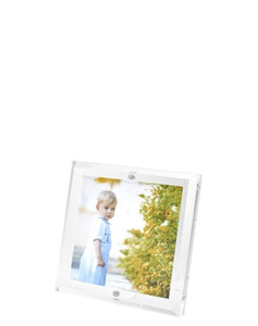 Clear Beveled Frame, 4 x 4