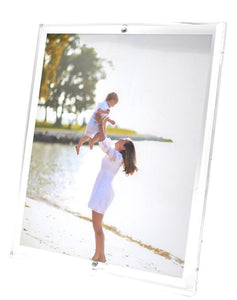 Clear Beveled Frame, 8 x 10