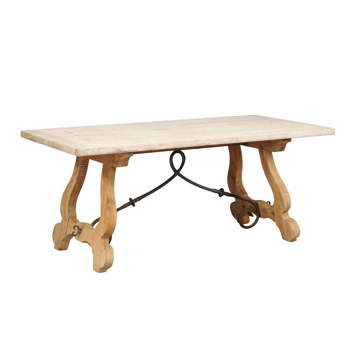 Stripped Oak Farm Table