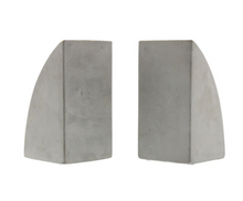 Load image into Gallery viewer, Geometric Cement Arch Bookends