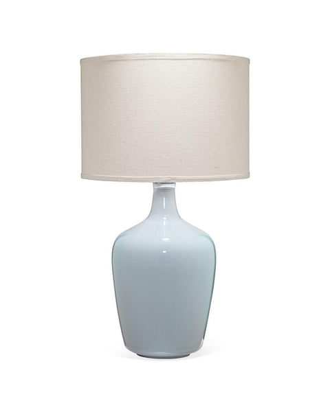 Grey Blue Plum Jar Table Lamp