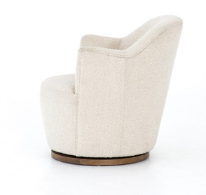 Cream Boucle Swivel